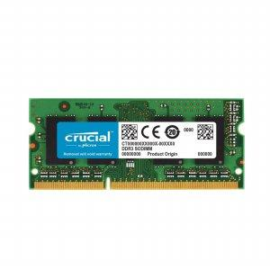 Crucial 2GB 204-pin SODIMM DDR3 PC3-106/171224A