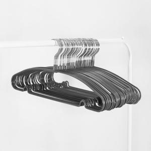 [올리빙] PVC 슬림 옷걸이 50개