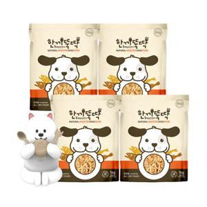 한끼뚝딱 습식 국산 강아지 사료 3kg+사은품10종