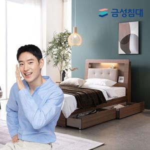 [금성침대] LED모션센서 침대(SS)_리프레쉬 유로탑 매트리스