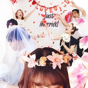 로맨틱 결혼 축하 피날레 플라워샤워용품 기획전 - 이벤트/ 웨딩파티 결혼식 웨딩 촬영소품부터 플라워샤워까지 한번에 준비하세요