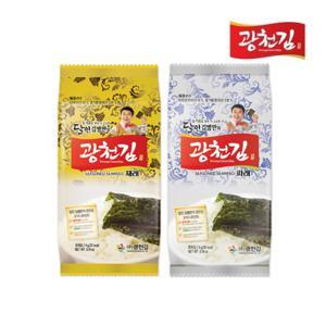광천김  달인 김병만의 광천김 혼합(재래+파래) 도시락김 48봉