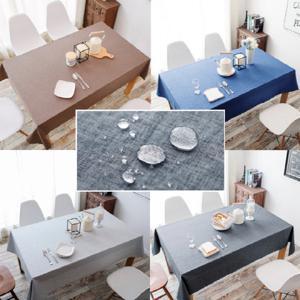 북유럽 린넨 방수 호텔 식탁보 테이블보 2인용 4인용 6인용 8인용