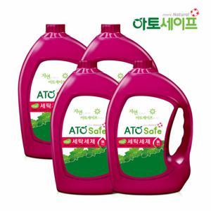 아토세이프 액체 세탁세제 일반/드럼겸용 3100ml X 4개+증정