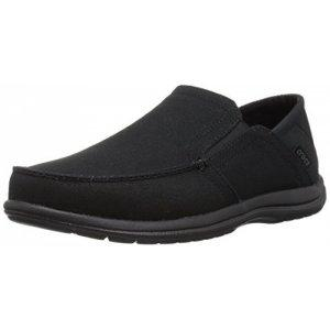 크록스 Crocs Mens Santa Cruz Convertible Slip on Loafer Casual Shoes
