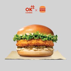 [OK캐쉬백] 버거킹 킹치킨버거 구독 4주 이용권