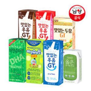 [15% 중복할인쿠폰] 남양 맛있는우유GT 아인슈타인 플러스 슈퍼밀크 락토프리 저지방우유 옳은우유