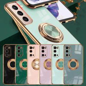 갤럭시S21 S20 노트20 10 9 플러스 울트라 FE 풀커버 렌즈보호 링 스탠딩 핸드폰 케이스