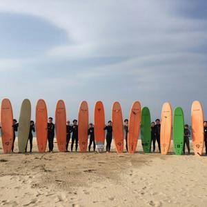 [10월한정] 안전한 서핑 입문 강습/어린이 강습&당일 자유 서핑 무제한!! (강원/양양) - 스폰지 보드 렌탈