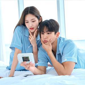 30%쿠폰!수면잠옷 업뎃! DOSSY도씨/피치기모/홈웨어/파자마/카카오프렌즈잠옷/원피스/커플잠옷