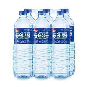 [동원] 동원샘물 생수 2Lx6병