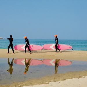 [여름특가2] 6월 오픈! 드리프터 서핑 강습/체험-호텔급 시설 (양양) - 슈트 렌탈