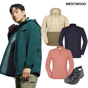 웨스트우드 FW바람막이/조끼/경량/이너 베스트전