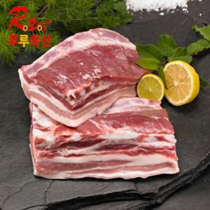 기획제품  돼지고기 삼겹살 판삼겹(원육) 2kg (오스트리아산)