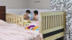 아기침대 인테리어 : 레이디가구 데이베드로 완성